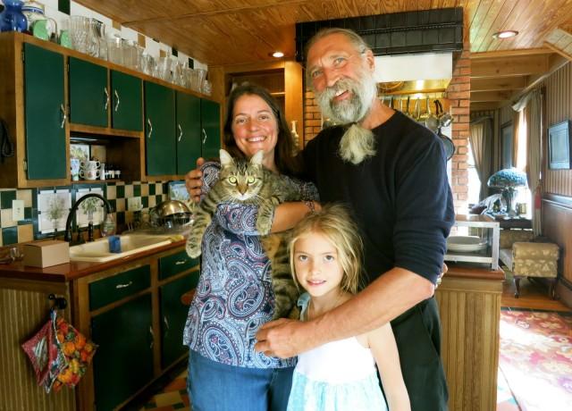 Justine and David Smythe, owners, Smythe House, Saugerties