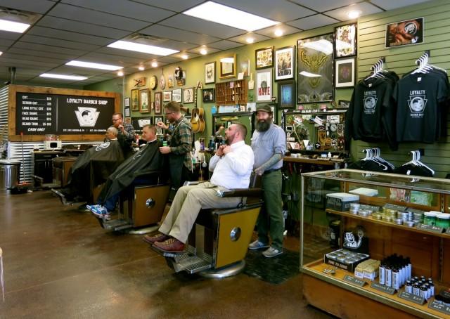 Loyalty Barber Shop, Scranton PA