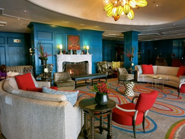 Hotel Monaco Alexandria Lobby
