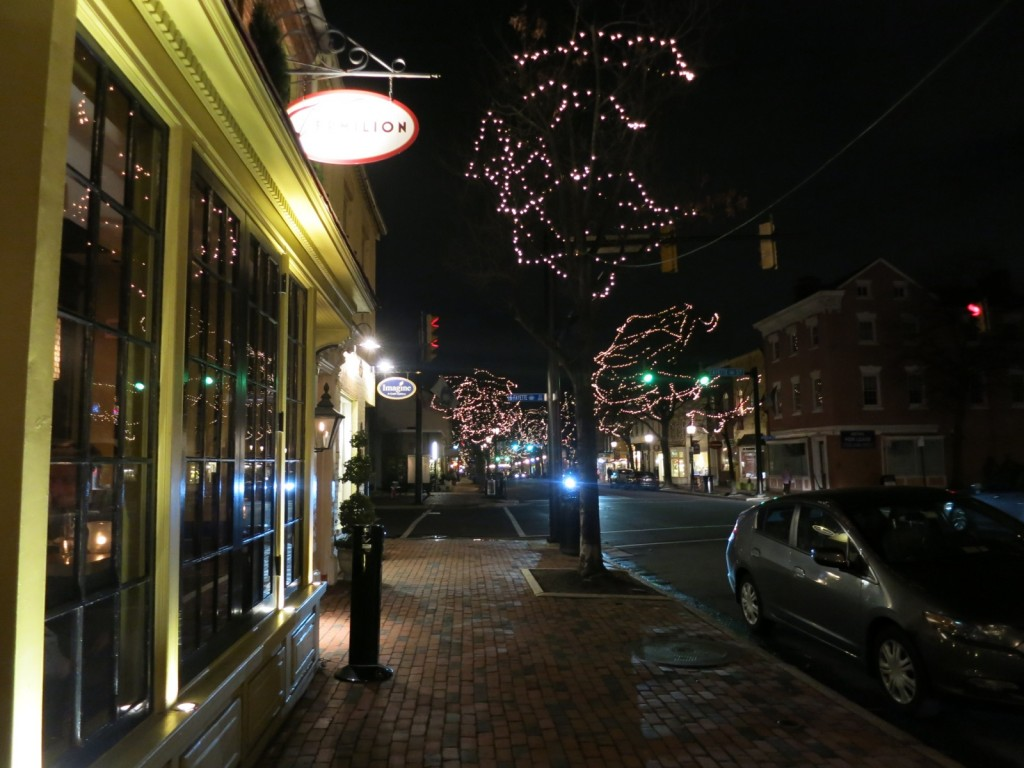 Old Town Alexandria at Night