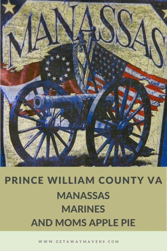 Prince William County VA Pin
