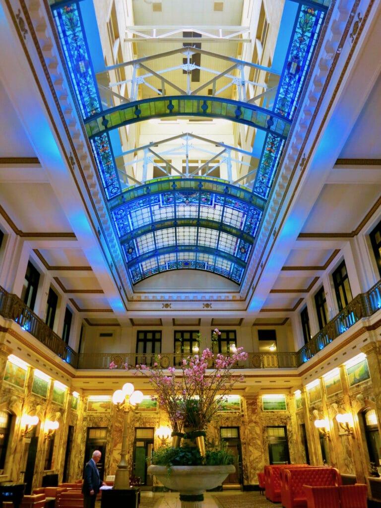 Radisson Lackawanna Station Hotel Lobby Scranton PA