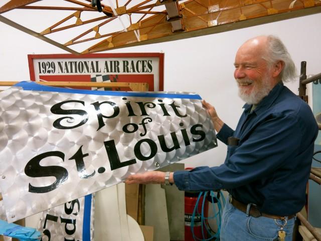 Rebuilding Spirit of St. Louis at Rhinebeck Aerodrome