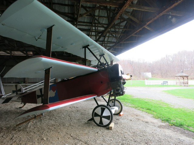 Red Barron Fokker, Tri-Plane