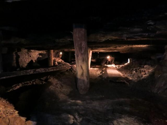 Replica of Mine Conditions, Lackawanna Coal Mine Tour