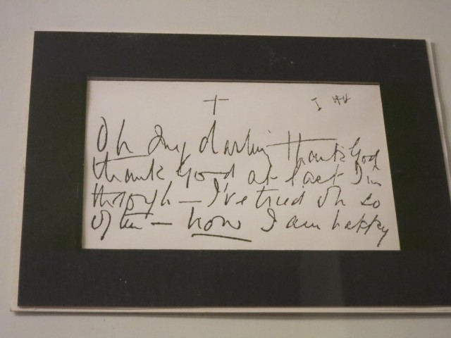 Seance Automatic Writing, Houdini Museum