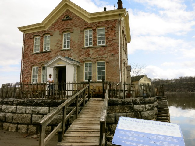 The Saugerties Lighthouse NY