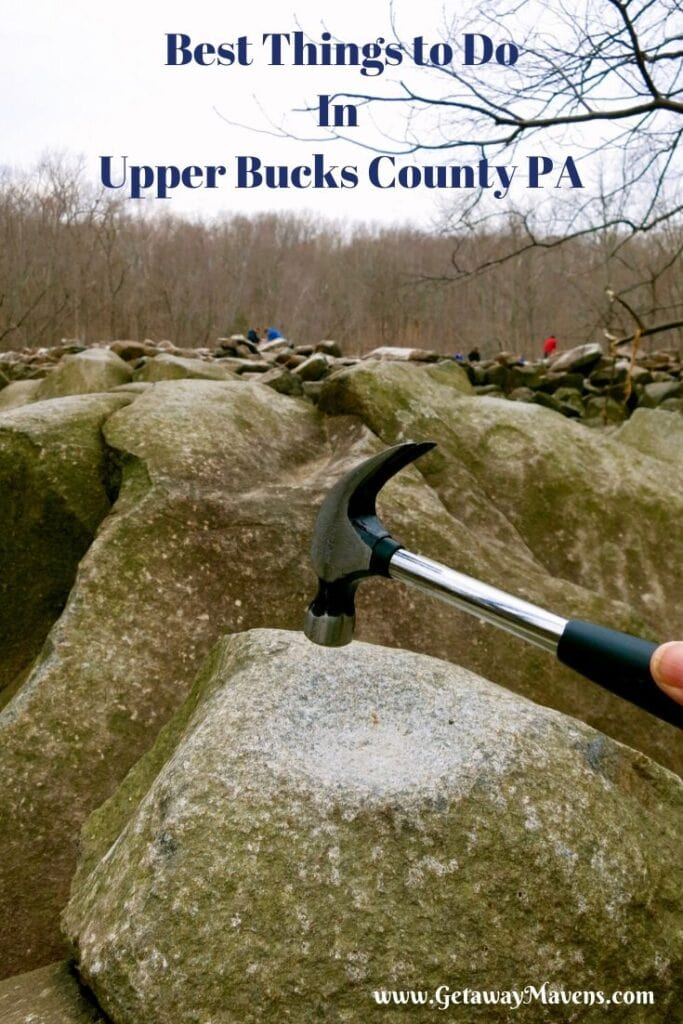 Upper Bucks County PA Pin