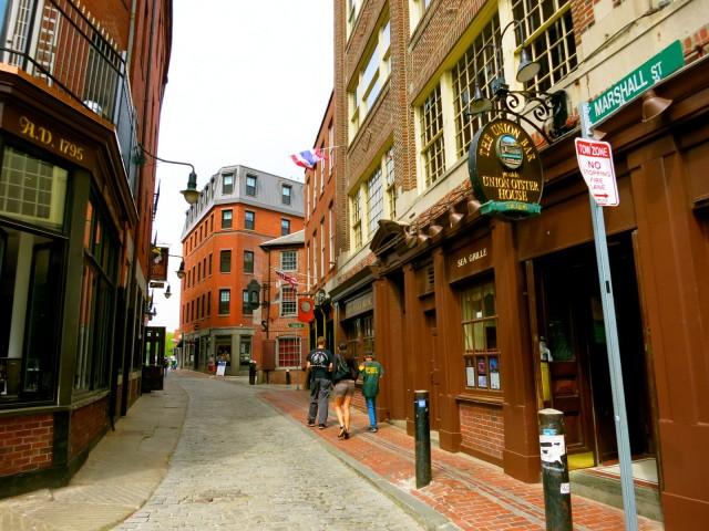 Boston Cobblestone Streets