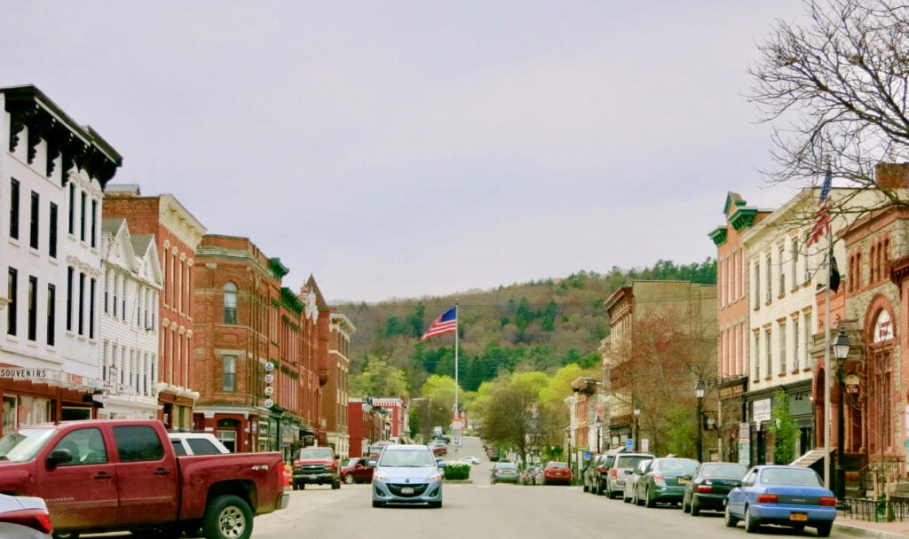 Main St. Cooperstown NY