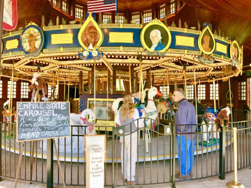 Empire State Carousel Farmers Museum Cooperstown NY