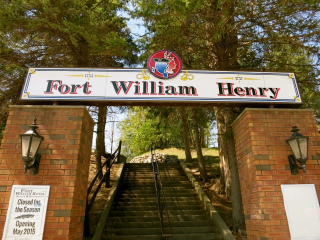 Entrance, Fort William Henry, Lake George NY