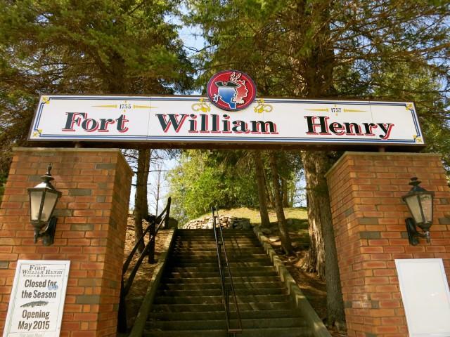 Entrance, Fort William Henry, Lake George NY