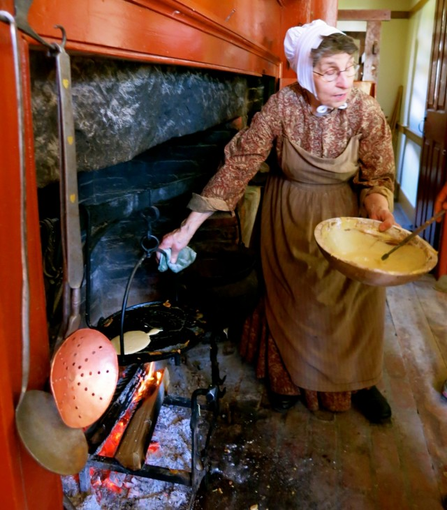 Farmers Museum Cooking Demonstration, Cooperstown NY