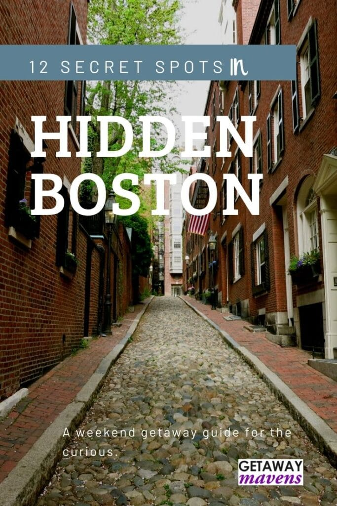 Hidden Boston Pinterest Pin