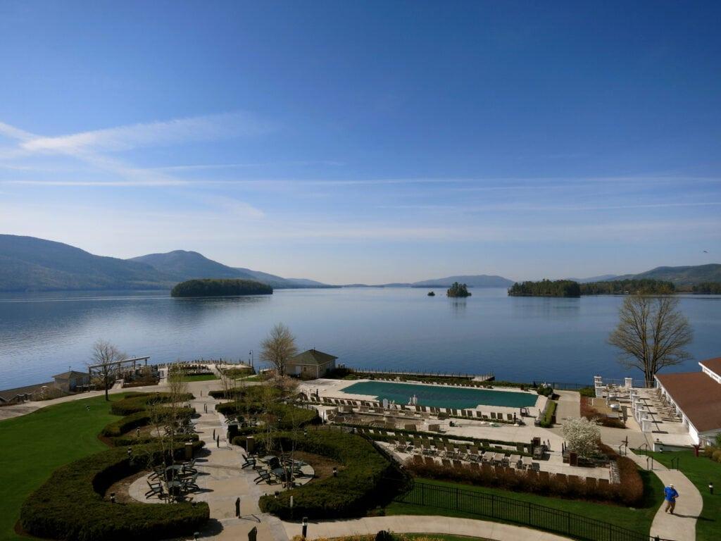 The Sagamore View of Lake George NY