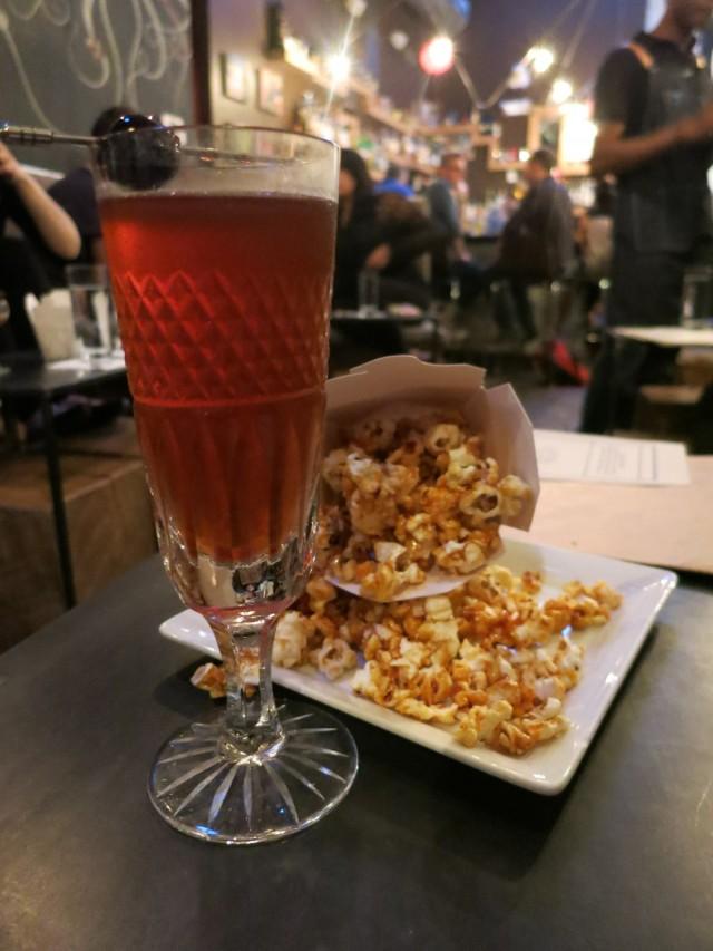 Model T and Caramel Popcorn, Backbar Somerville MA