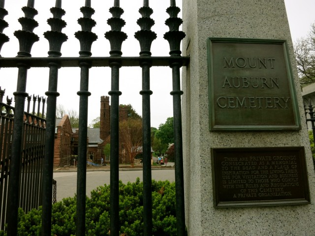 Mount Auburn Cemetery Entrance