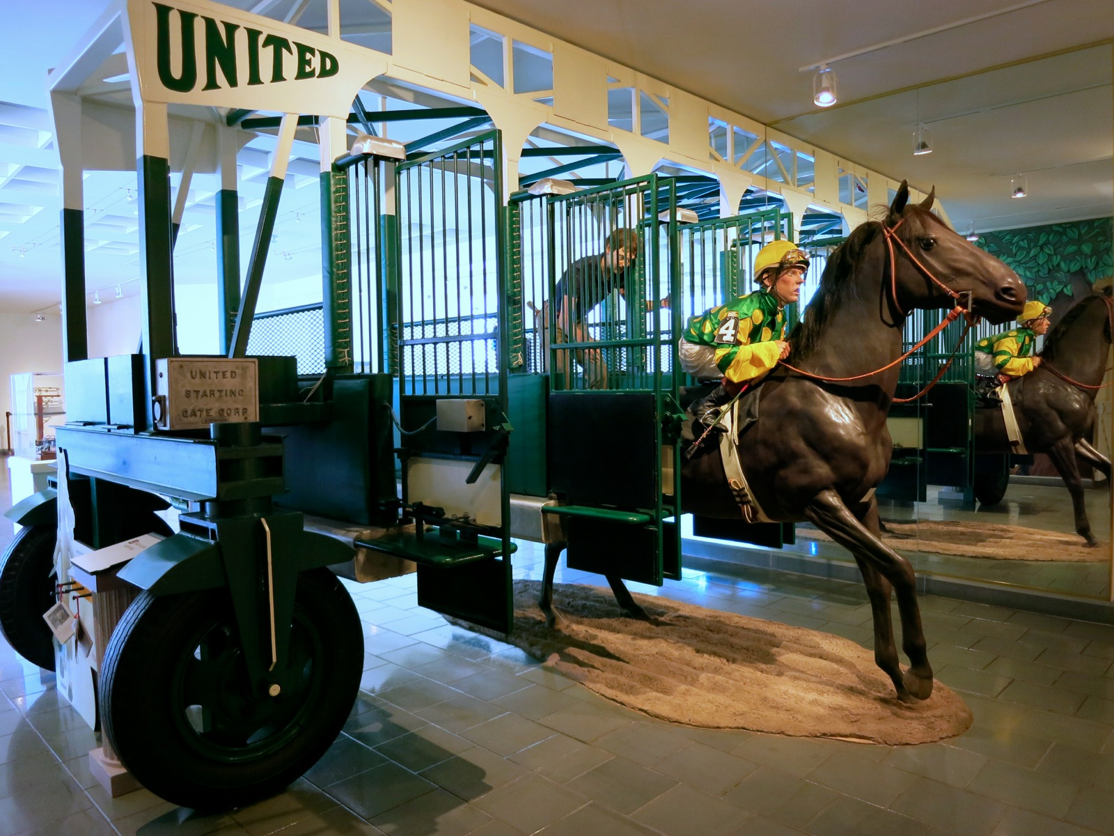 Thoroughbred Racing At Saratoga Race Course Began In 1863