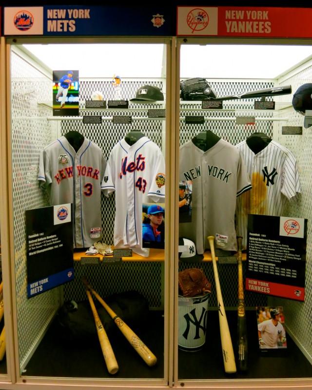 New York Teams, Baseball Hall of Fame