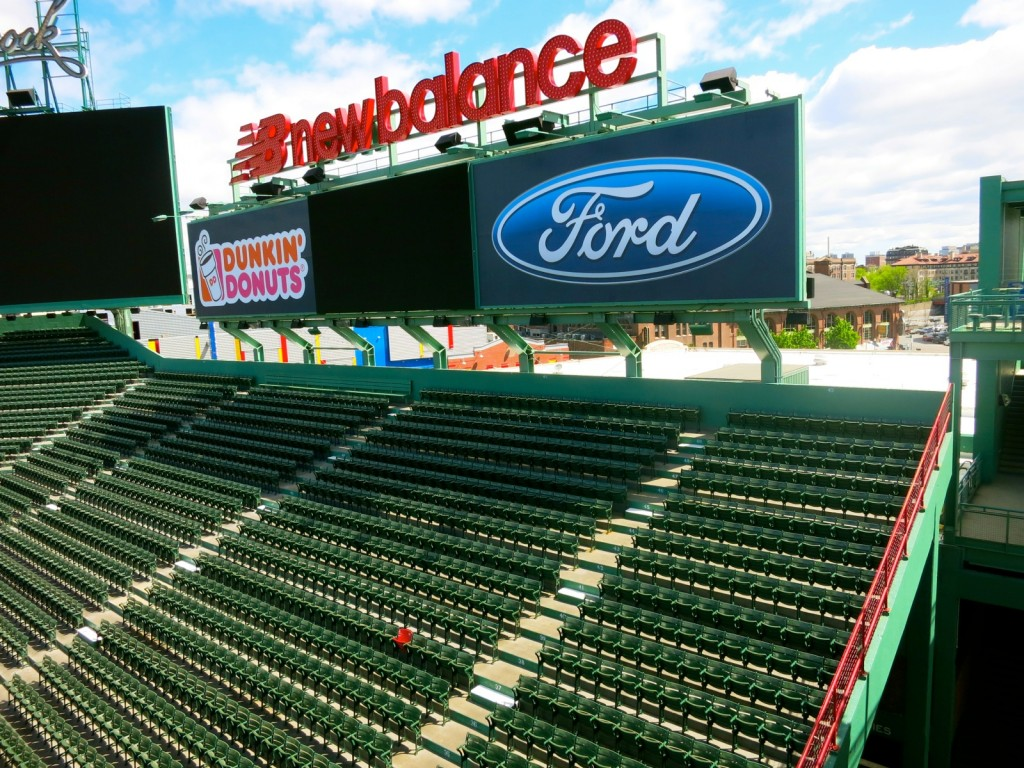 Red Seat at Fenway Park Boston MA
