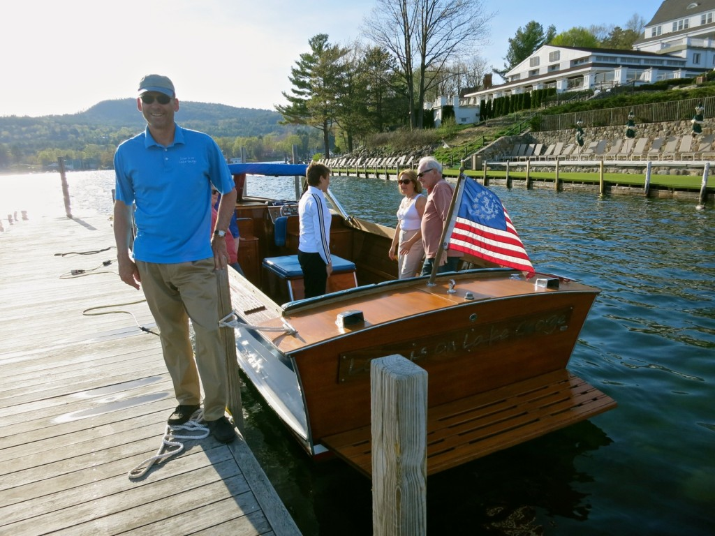 Ron Miller at your Service, Love is On Lake George Tours