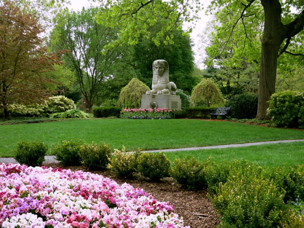 Sphinx at Mount Auburn Cemetery
