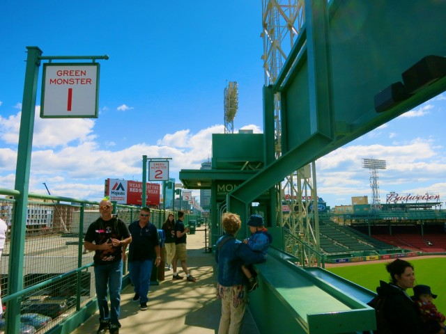 Top of the Green Monster Fenway Park