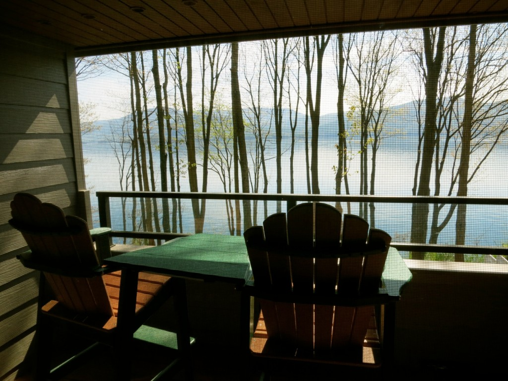 View from Lodge Suite, Sagamore Resort