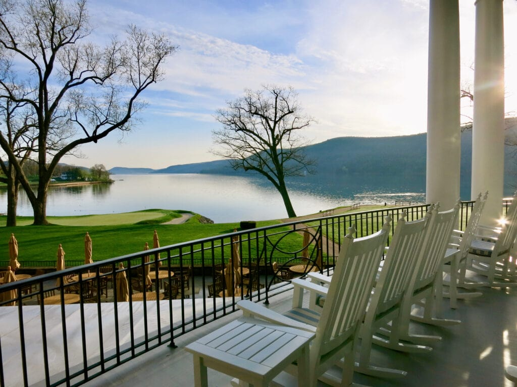 Leatherstocking Golf Course from Otesaga Resort Cooperstown NY