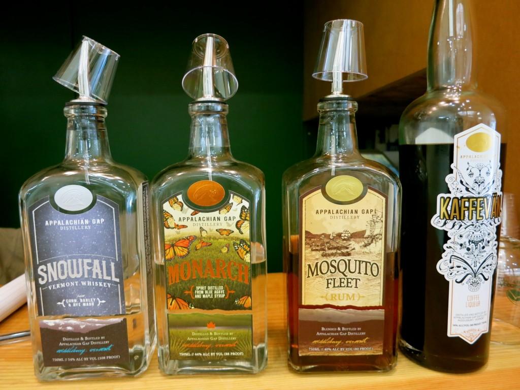 Appelacian Gap Distillery, Middlebury VT