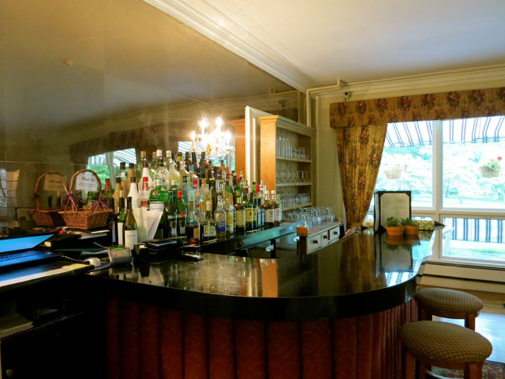 Bar at Four Chimneys Inn