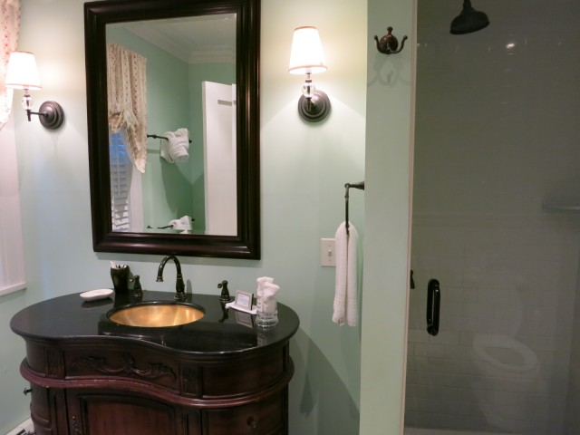 Bathroom at Four Chimneys Inn, Bennington VT