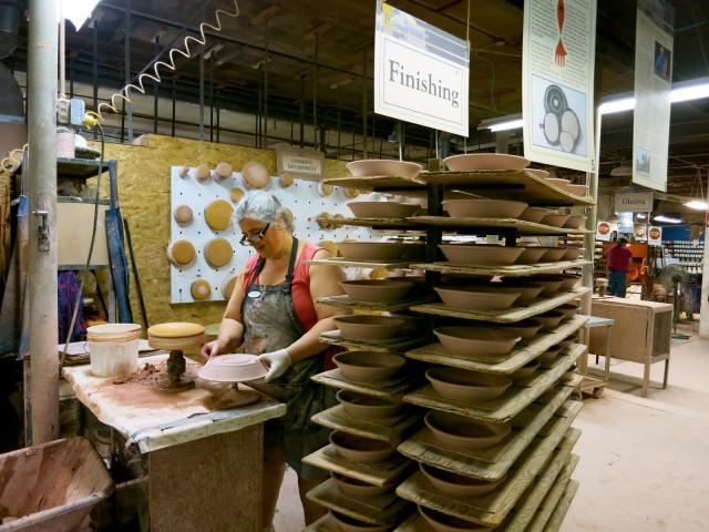 Bennington Potters factory