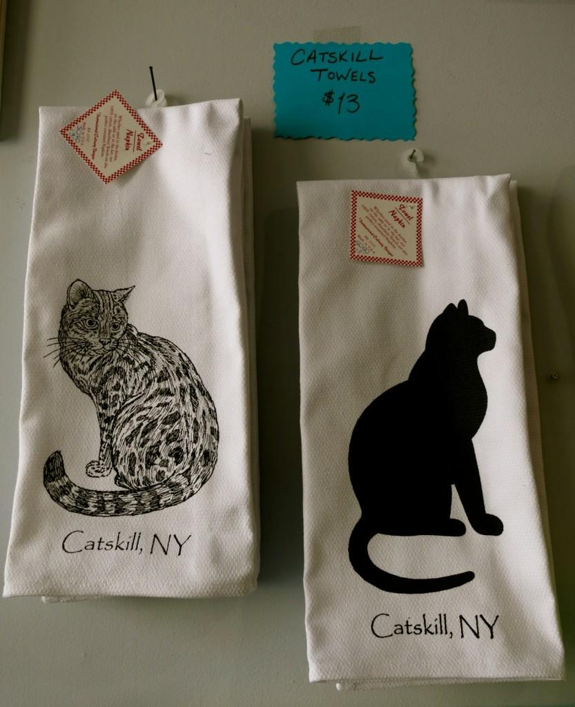 Catskill Cat Towels, Mahalo, Catskill NY