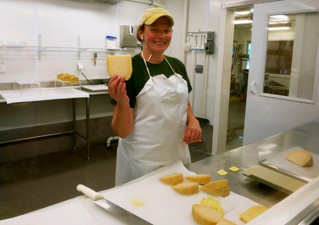 Cheesemaking at Hildene
