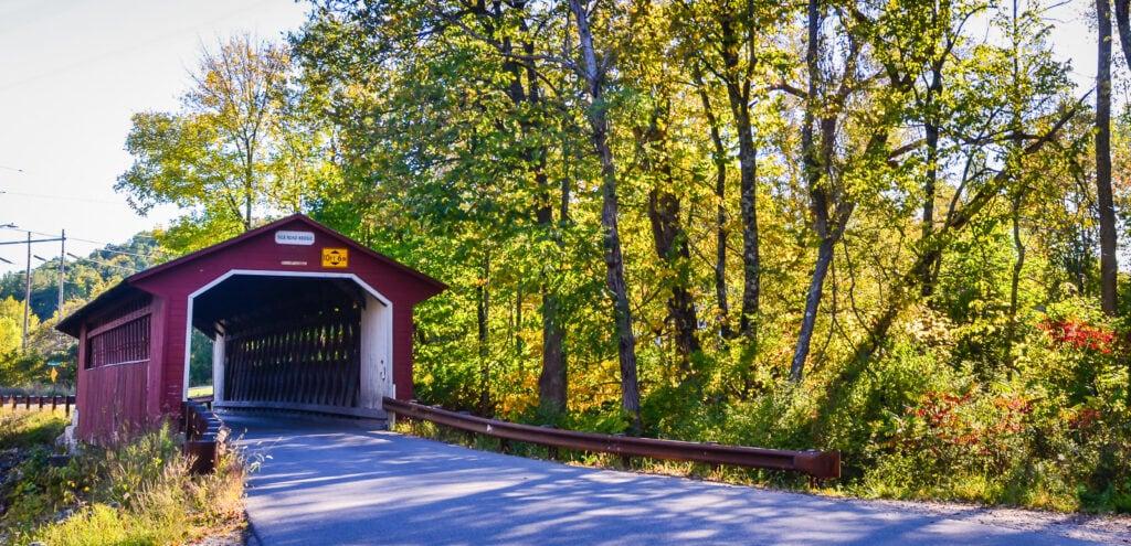 Covered Bridge - Bennington Vermont