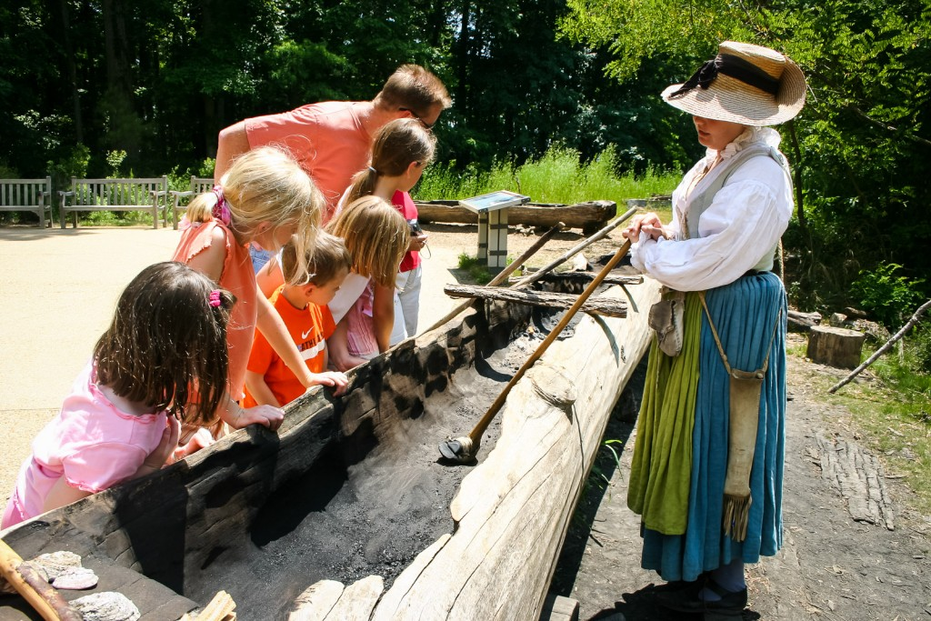 Dugout canoe - Jamestown