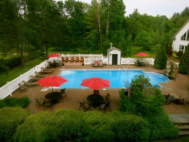 Essex Resort Pool from Room