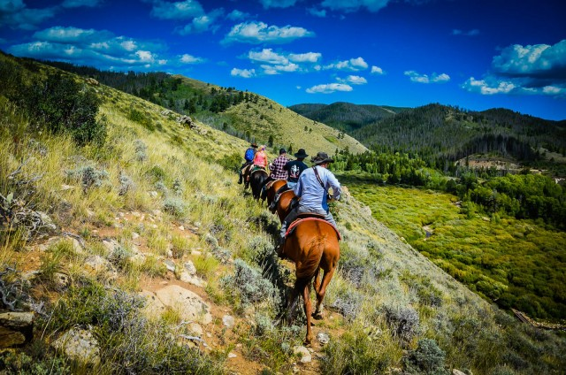 Horseback Riding - Medicine Bow National Forest