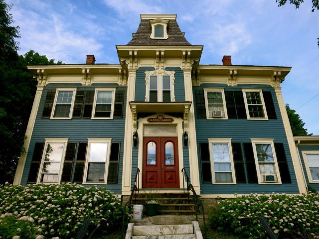 Inn on the Green exterior, Middlebury VT