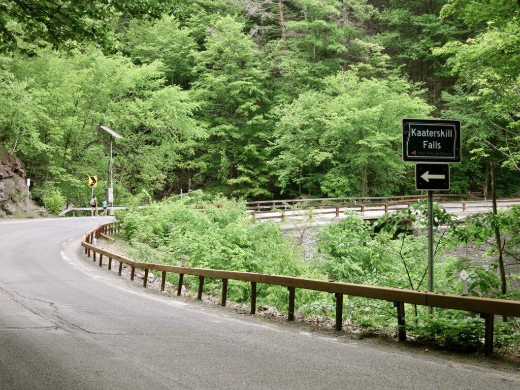 Route 23 Kaaterskill Falls NY
