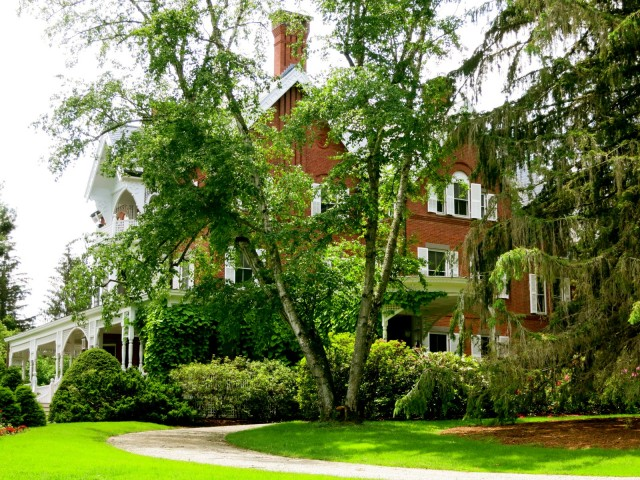 Marsh Billings Rockefeller Mansion