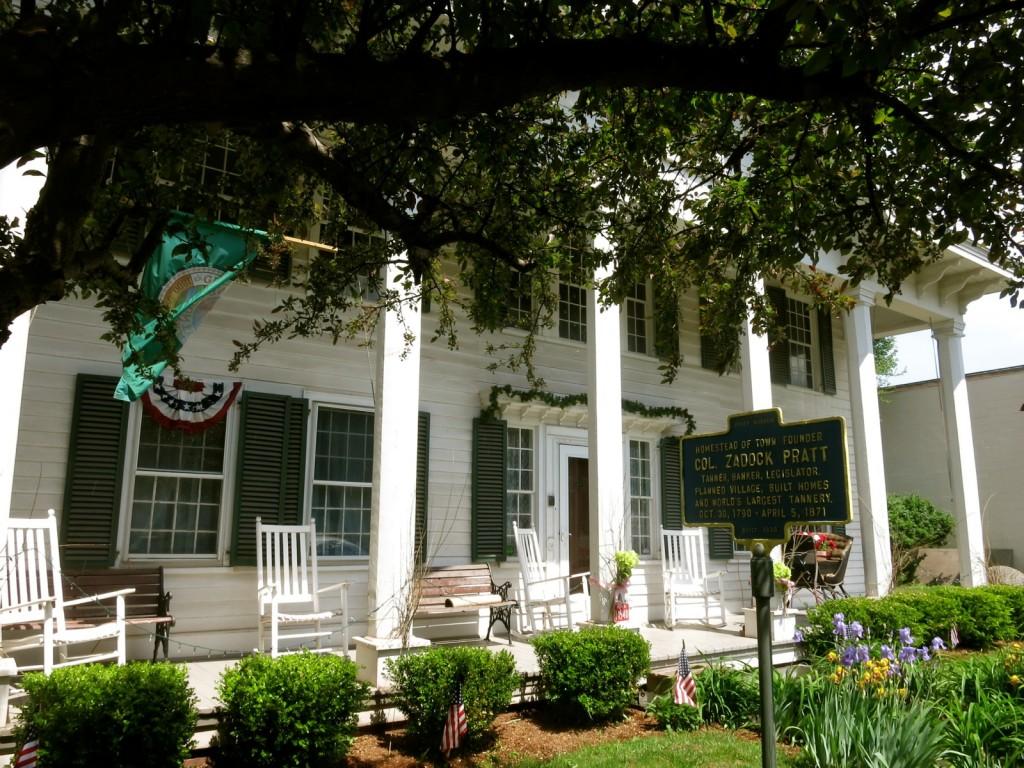 Pratt Home and Museum, Prattsville NY