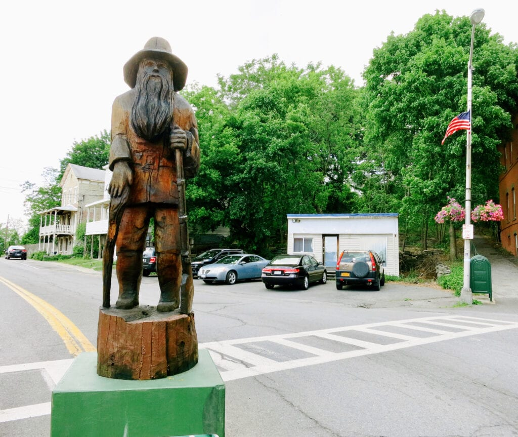 RipVan Winkle Statue Catskill NY
