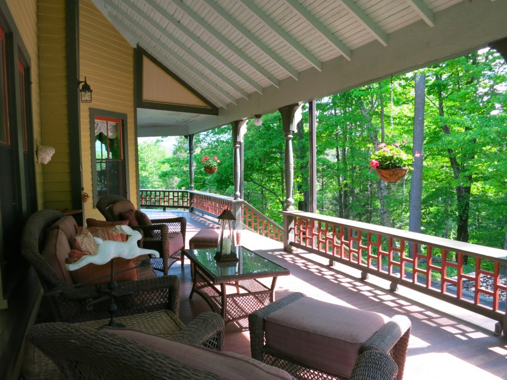Rosehaven wraparound porch