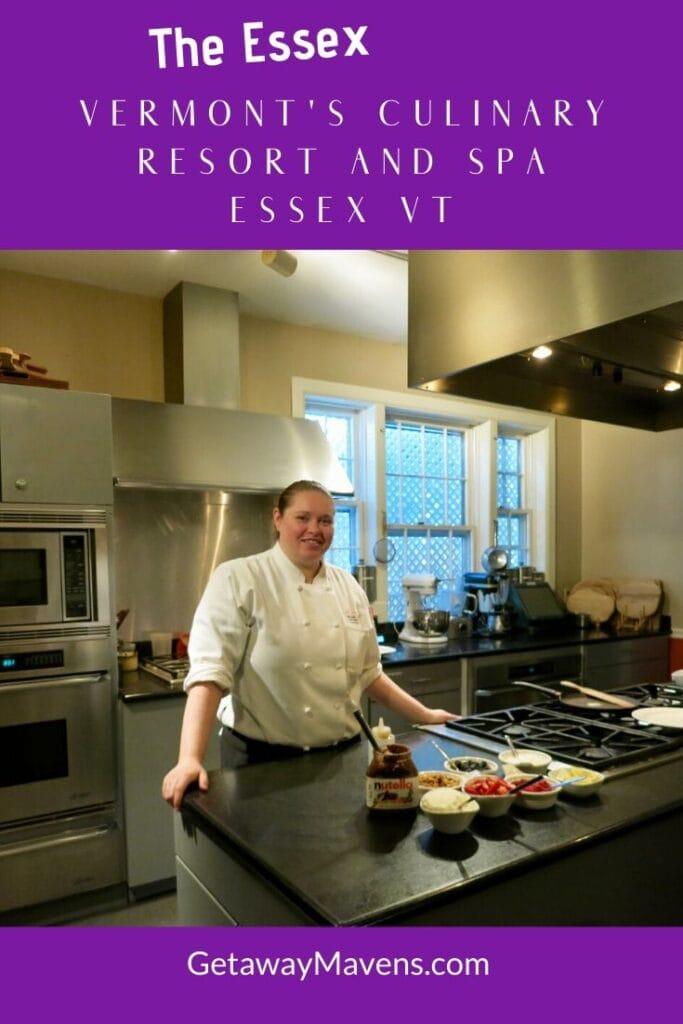 The Essex Culinary Resort VT Pin