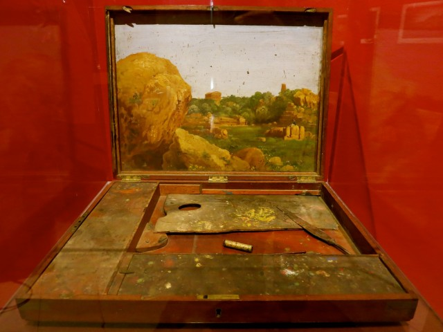 Thomas Cole's Paint Box