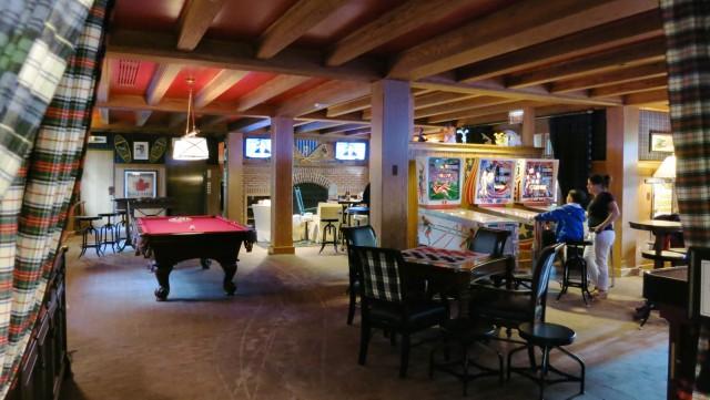Woodstock Inn Game Room