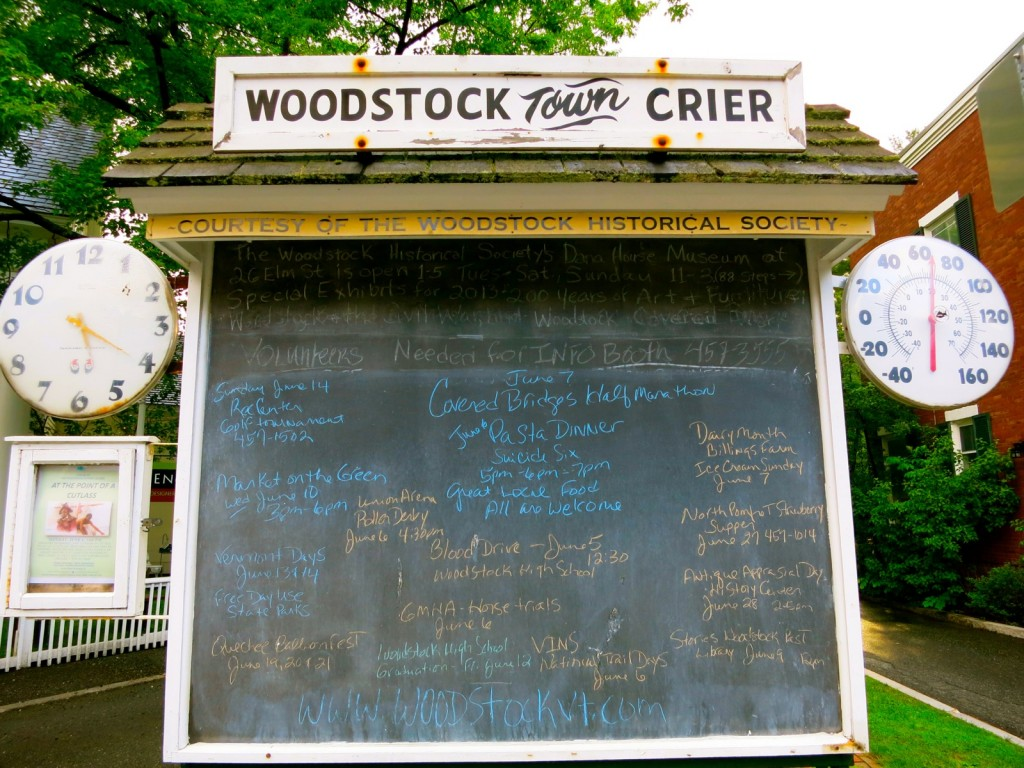 Woodstock Town Crier